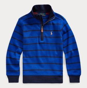 Polo Ralph Lauren Boys Interlock Cotton Pullover 8